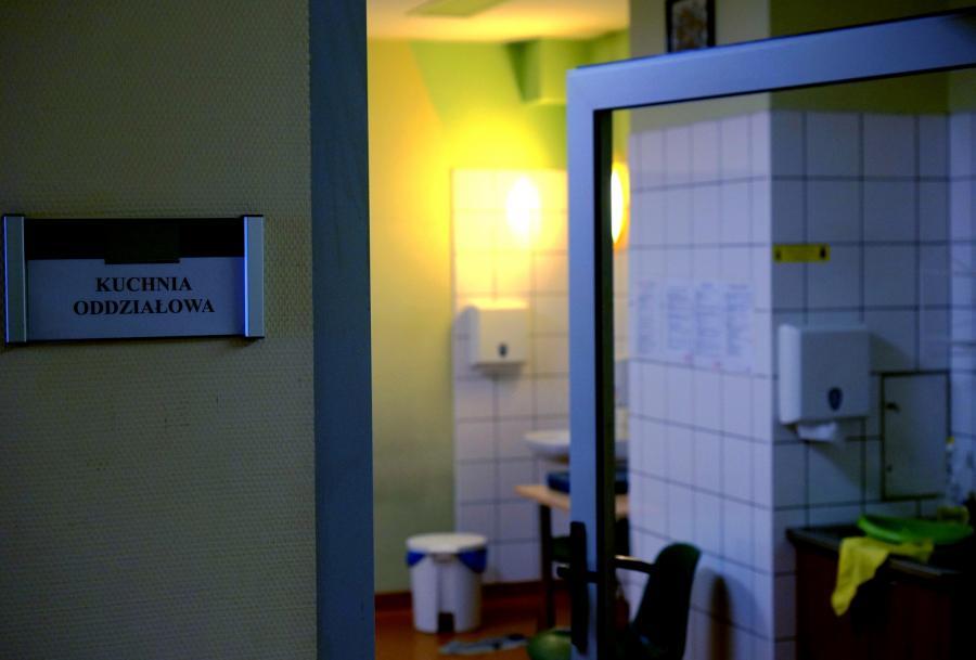 Kuchnia w Szpitalu Miejskim w Rudzie Śląskiej