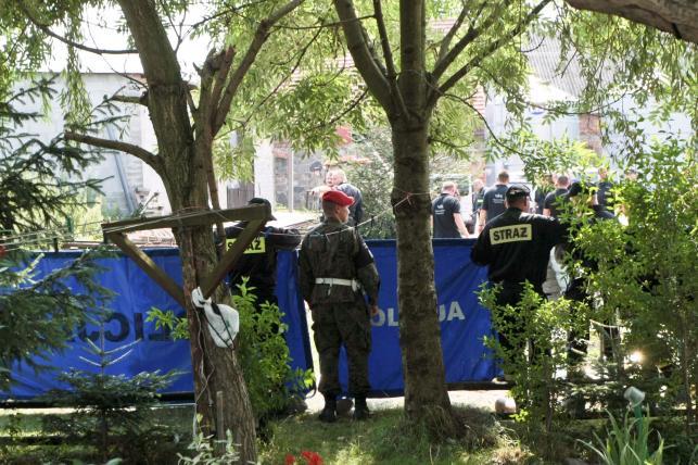 Policyjni eksperci prowadzą śledztwo