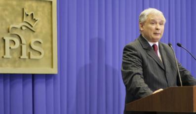 Jarosław Kaczyński: Tusk może obudzić się z głową w nocniku