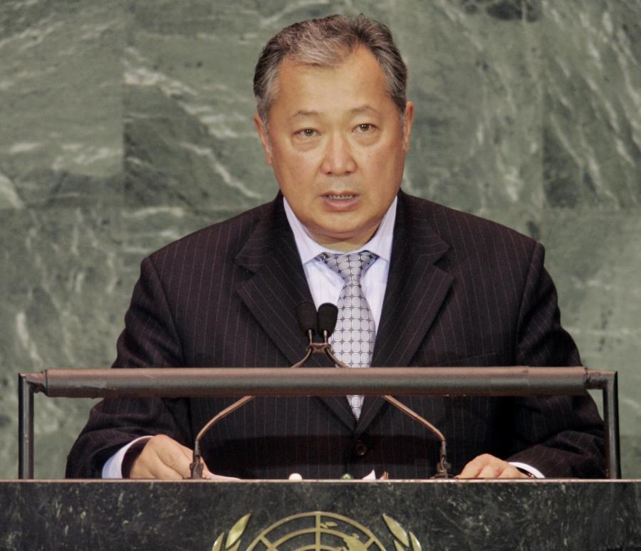 Były prezydent Kirgistanu Kurmanbek Bakijew