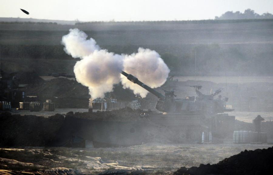 Strefa Gazy Picture: Izrael Odrzuca Plan Kerry'ego. Chcą Innych Warunków