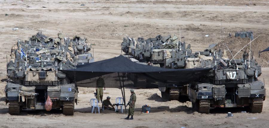 Baza izraelskiego wojska