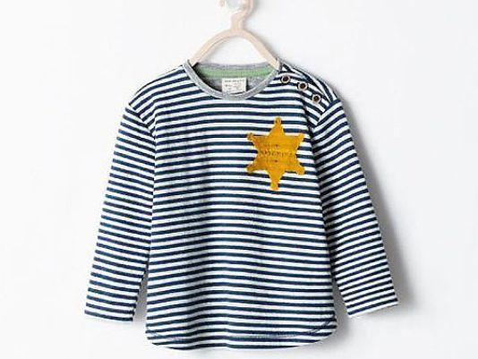 Koszulka sprzedawana w sieciówce