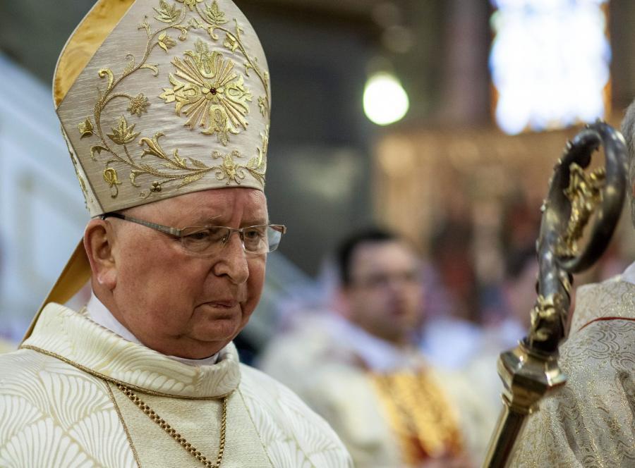 Biskup kielecki Kazimierz Ryczan