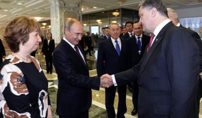 Władimir Putin i Petro Poroszenko