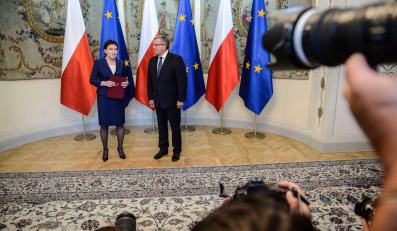 Ewa Kopacz desygnowana na premiera. Prezydent Bronisław Komorowski powierzył jej misję utworzenia rządu