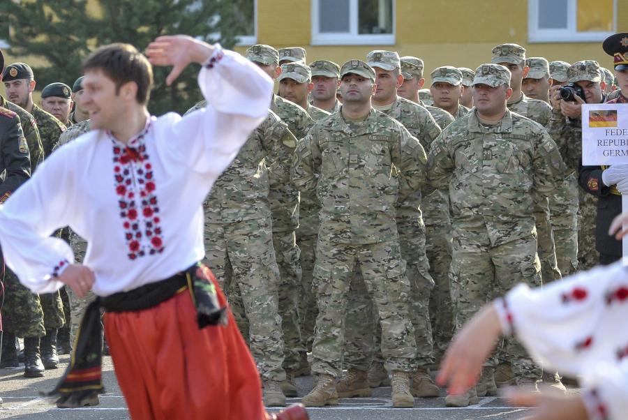 Ćwiczenia na Ukrainie