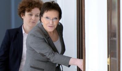 Ewa Kopacz w Sejmie