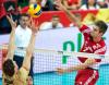 Mistrzostwa świata w siatkówce: mecz Polska - Niemcy, atakuje Karol Kłos