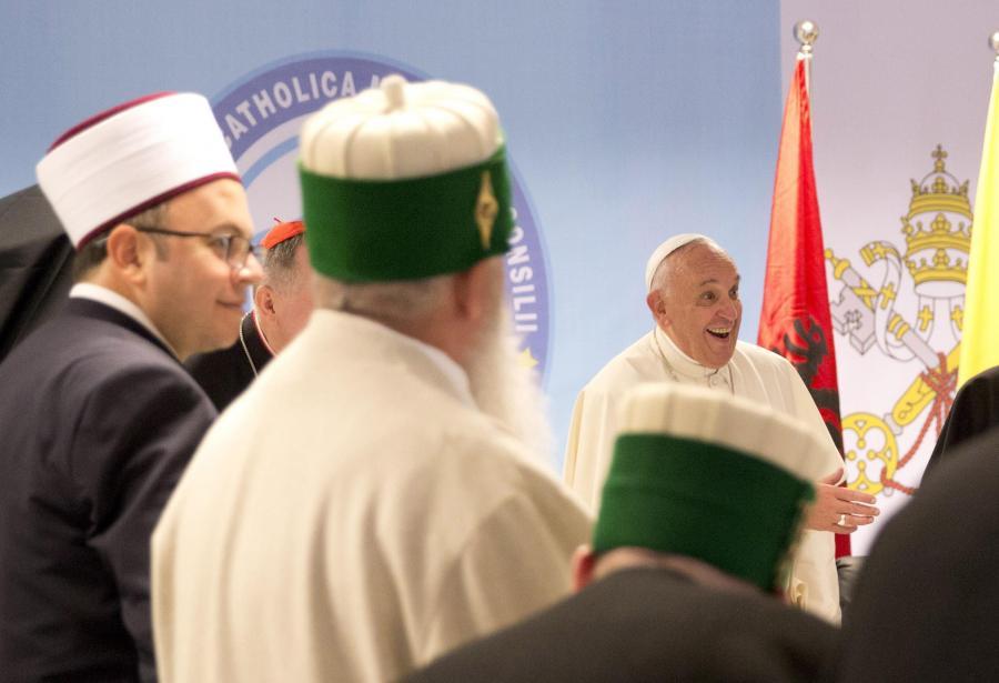 Papież w Albanii