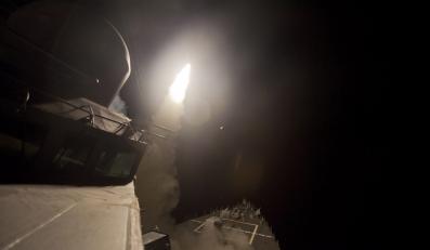 Nocne naloty na cele w Syrii