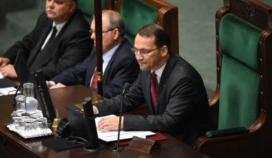 Radosław Sikorski nowym marszałkiem Sejmu