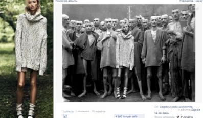 Anja Rubik / Zdjecie z sesji dla Vouge'a oraz screen z profilu Bogdana Krzemińskiego