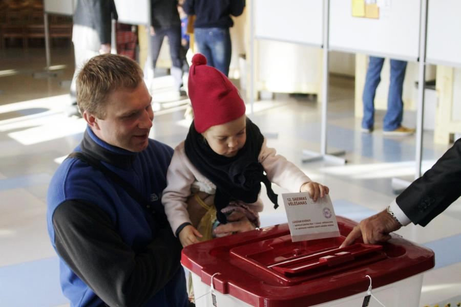 Wybory na Łotwie