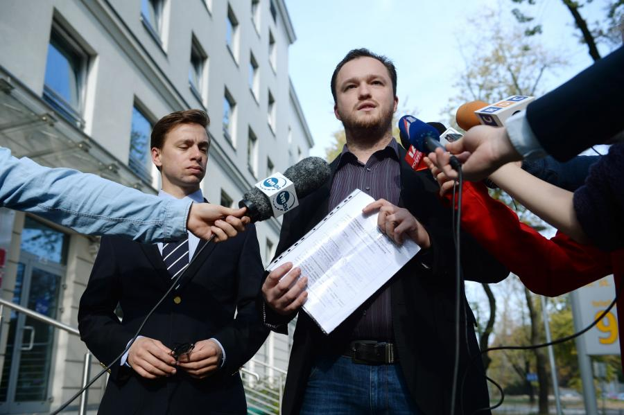 Krzysztof Bosak i Witold Tumanowicz