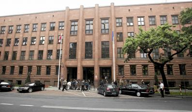 Budynek MSZ przy Al. Szucha w Warszawie