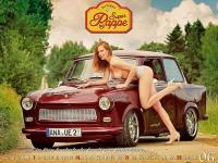 Najbardziej erotyczny kalendarz z Trabantem w historii! FOTO dla dorosłych