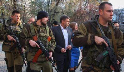 """Aleksander Zacharczenko """"premier"""" Donieckiej Republiki Ludowej"""