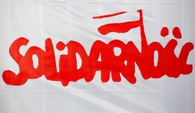 """Flaga NSZZ """"Solidarność"""""""