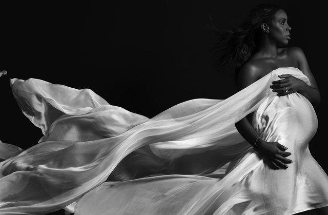 Kelly Rowland na zdjęciu z sesji dla amerykańskiego \