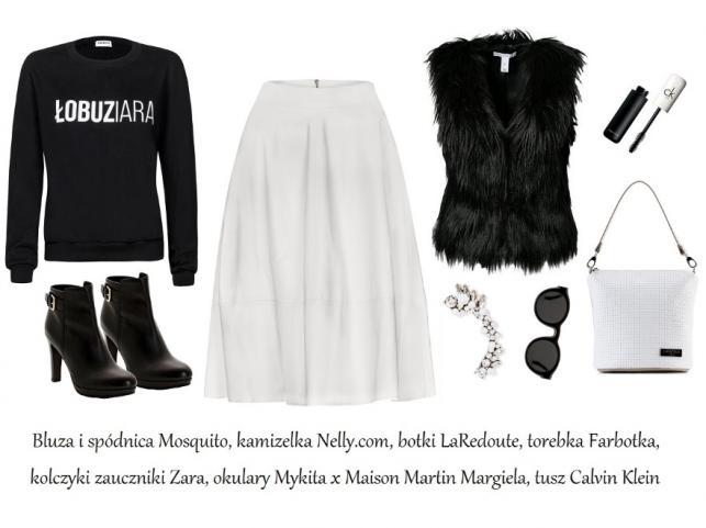 STYLIZACJE black & white na jesień 2014