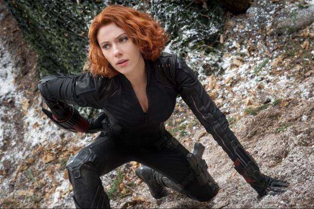"""Scarlett Johansson w filmie """"Avengers: Czas Ultrona"""""""