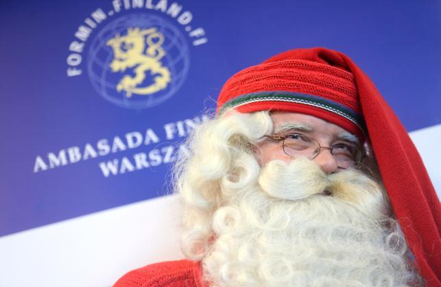 Święty Mikołaj z Rovaniemi przyleciał do Polski