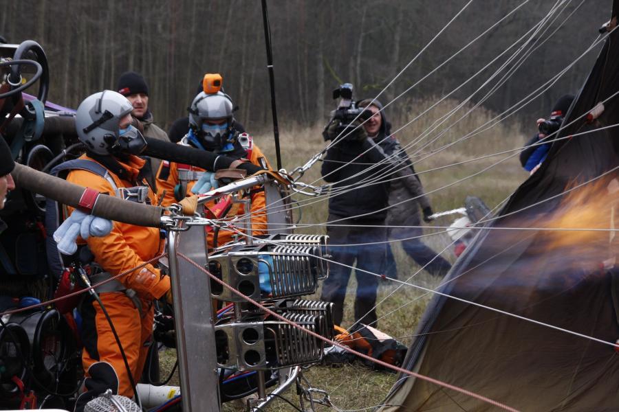 Przygotwania do startu (Fot. Projekt Polska Stratosfera)