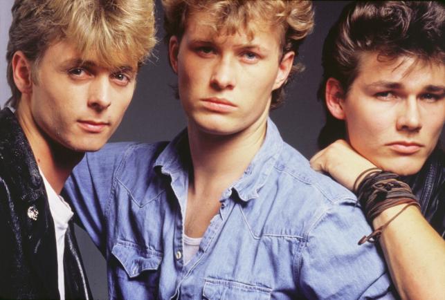 Trio a-ha w 1985 roku