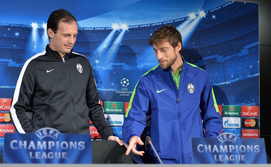 Massimiliano Allegri i Claudio Marchisio