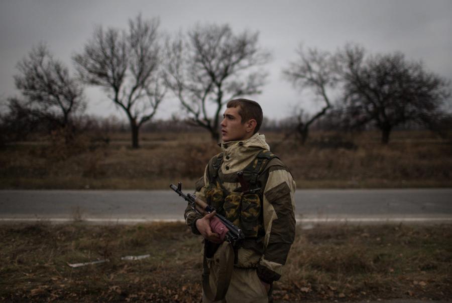 Separatysta z Ługańska