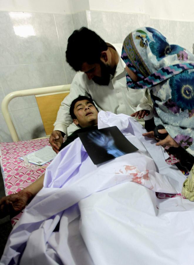 Ranny w zamachu terrorystycznym chłopiec