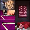 MAJSTERKI: DIY - choinka z taśmy LED