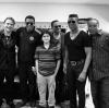 Prince i Blanket z wujkami: Jackiem, Jermainem i Marlonem Jacksonem