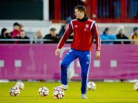 Robert Lewandowski i jego Bayern szlifują formę przed drugą częścią sezonu. ZDJĘCIA
