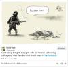"David Pope - rysunkowy komentarz po ataku na ""Charlie Hebdo"""