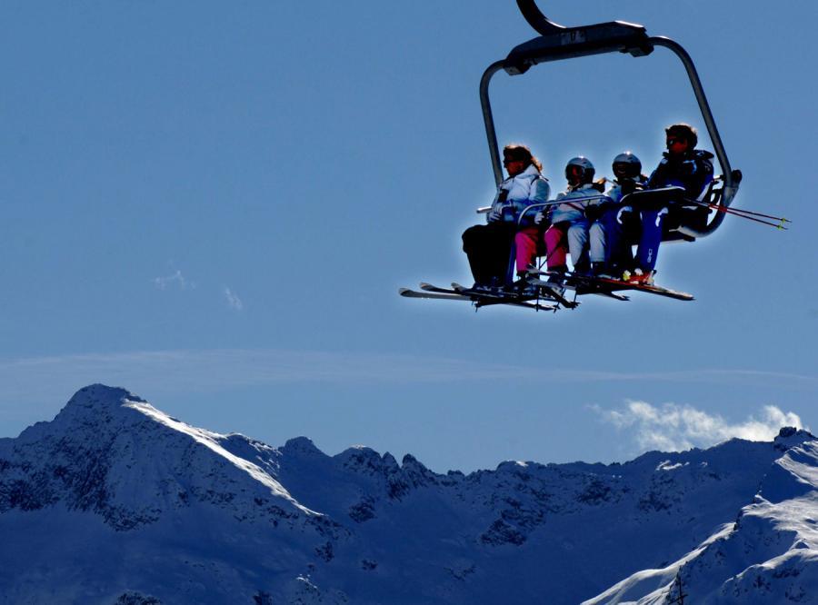 W całym rejonie Val di Fiemme jest aż 140 kilometrów tras dla narciarzy