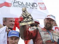 Rafał Sonik, polski biznesmen, który wygrał Rajd Dakar. ZDJĘCIA