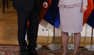 Ewa Kopacz i Marosz Szefczovicz