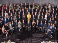 Oscarowe spotkanie na szczycie. Nominowani na oficjalnym bankiecie [ZDJĘCIA]