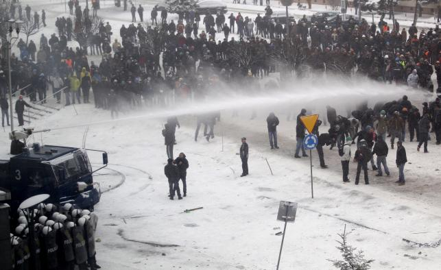 Starcia z protestującymi w Jastrzębiu