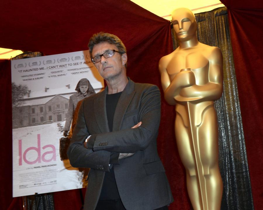 Paweł Pawlikowski na spotkaniu nominowanych do Oscara