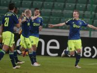 Liga Europy: Milik załatwił Legię. Ajax gra dalej. WIDEO