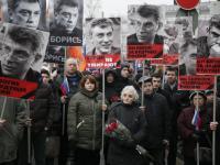 """Marsz pamięci Borysa Niemcowa w Moskwie. """"To kule dla każdego z nas..."""" ZDJĘCIA"""