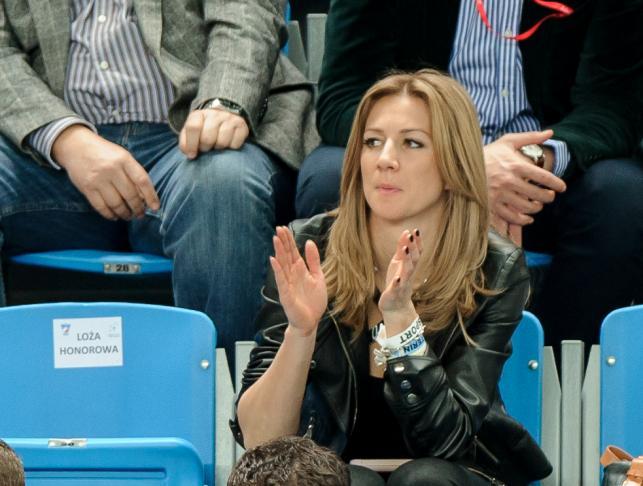 Domachowska kibicowała Janowiczowi podczas Pucharu Davisa