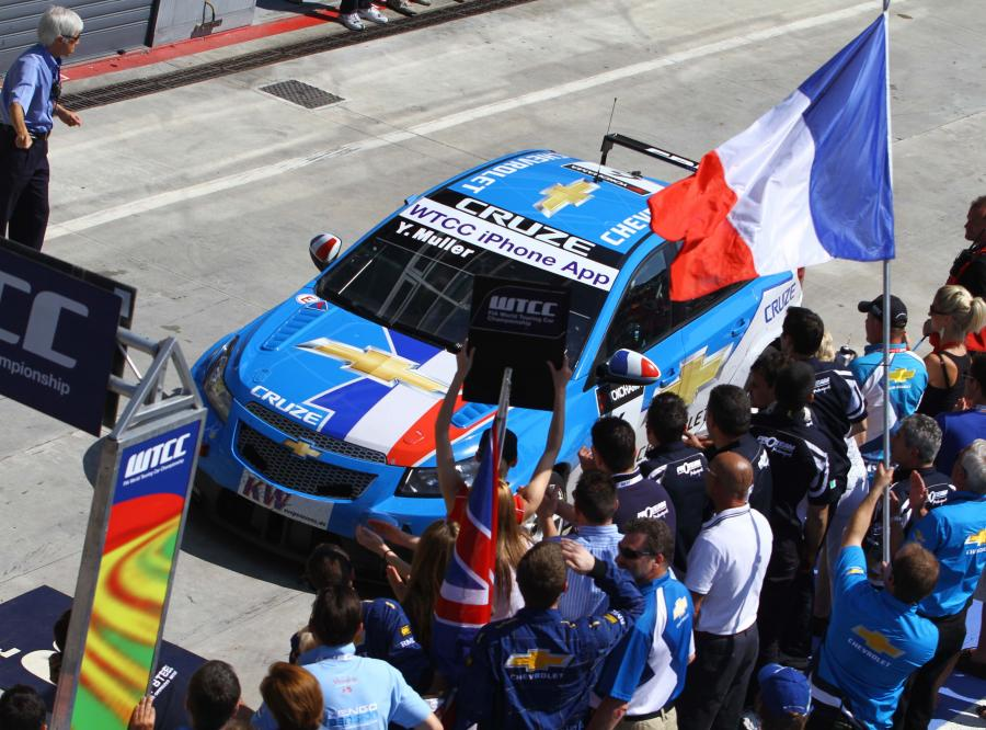 Chevrolet pędzi po podwójne mistrzostwo!