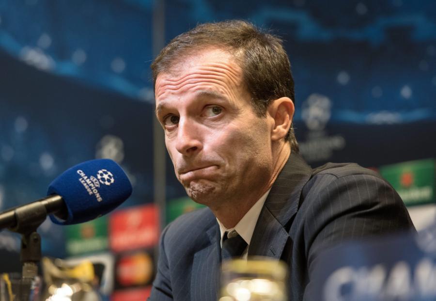 Trener Juventusu Massimiliano Allegri