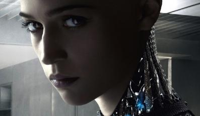 "Alicia Vikander w filmie ""Ex Machina"""