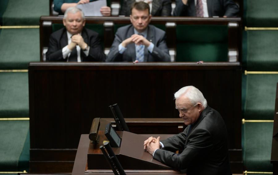 Leszek Miller w Sejmie