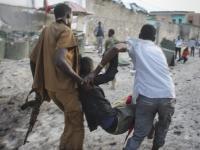 Atak na hotel w Mogadiszu w Somalii. Jest wiele ofiar